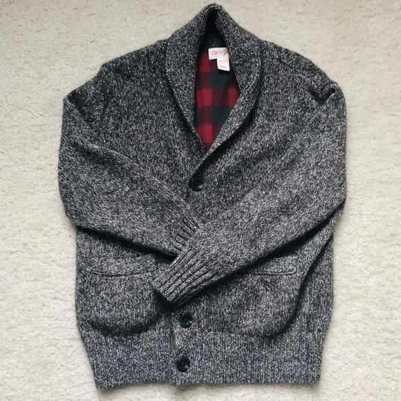Cat & Jack Other - Cat & Jack Sweater Cardigan (boy's XS 4/5)